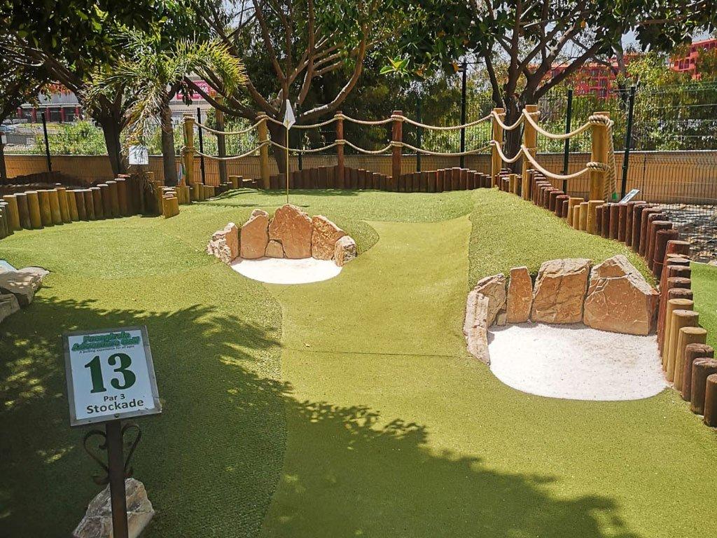 Adventure Golf hole 13
