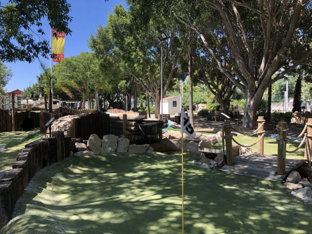 Adventure Golf hole 15