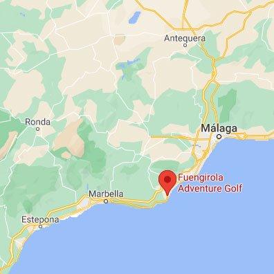 Fuengirola Adventure Golf Location